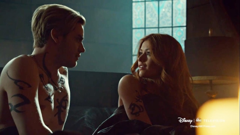 Clary Jace (Clace)   Hunger [ 3x14] [Shadowhunters]