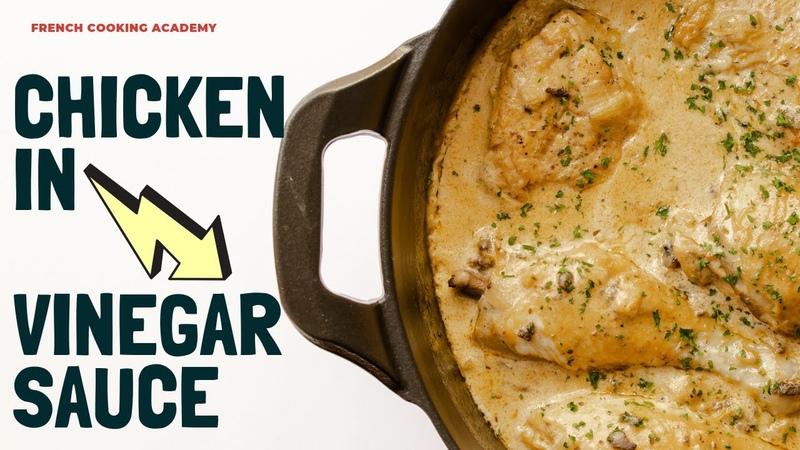 WOW I love this! Bistro style chicken in vinegar sauce recipe