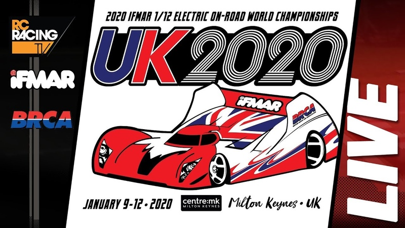 IFMAR 1 12th Track Worlds 2020 Sunday FINALS DAY LIVE!