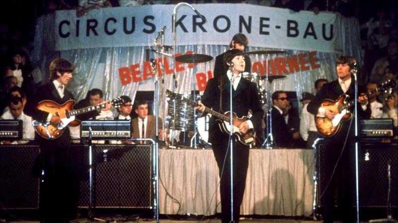 The Beatles Live At Circus Krone Bau June 24 1966 The Beatles