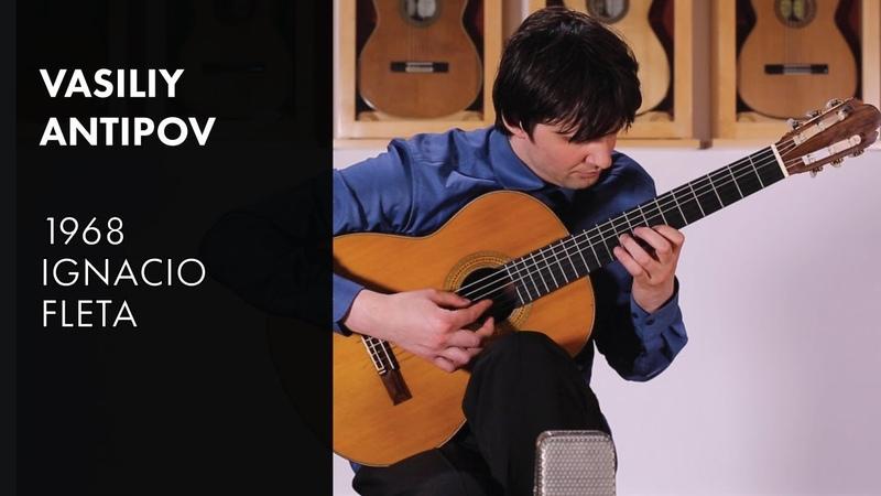 Antipov Sonata Fantasie 2nd Mvmnt Vasiliy Antipov plays 1968 Fleta