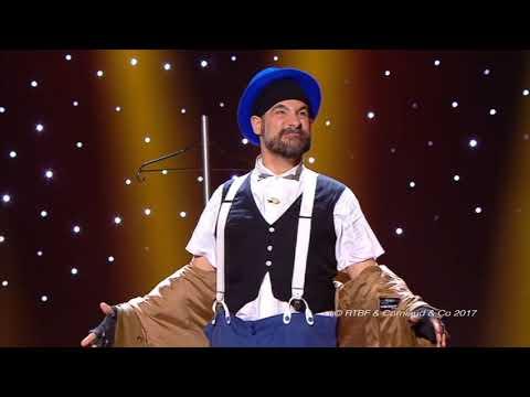 Visual Clown Visual Comedy on TV Gromic Numéro clown
