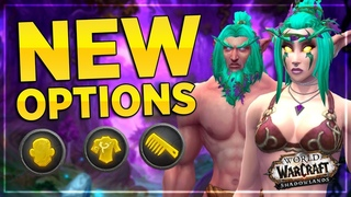 NEW Night Elf Customization Options| Male & Female |Shadowlands Alpha