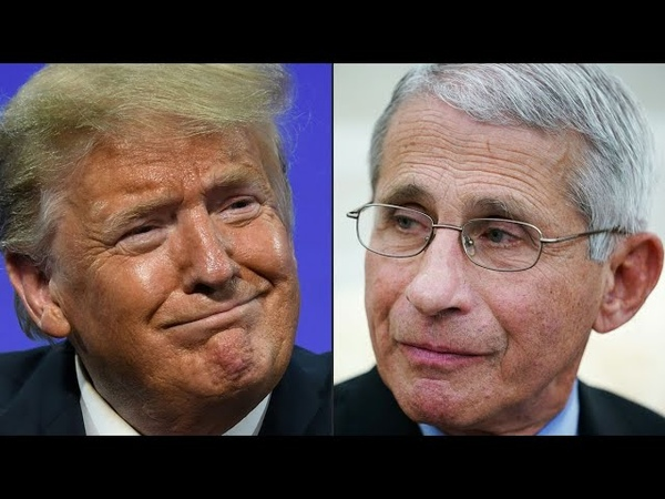 Trump Says He's Happy Dr Fauci Has High Approval Rating
