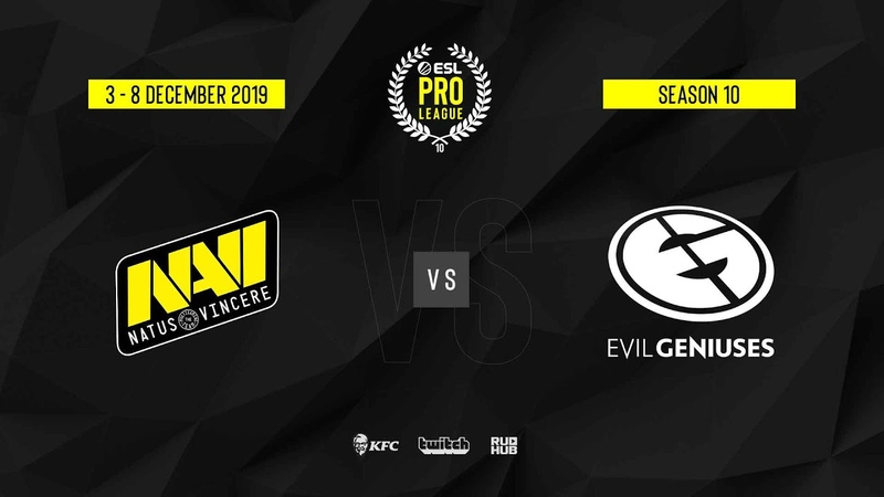Natus Vincere vs EG ESL Pro League S10 Finals map1 de mirage Gromjkeee TheCraggy