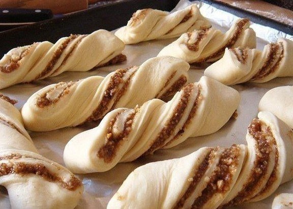Изумительно нежные ореховые булочки