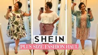 SHEIN PLUS SIZE HAUL/REVIEW | UK Plus Size Fashion