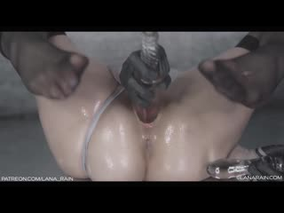 LANA RAIN MANYVIDS - OILED UP 2B WITH TRANSPARENT DILDO) [2020, SOLO, COSPLAY, MASTURBATION, TOYS, HD]