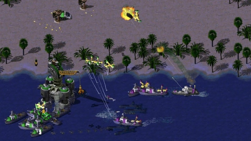 New Build Order in Funny Little Bigger Map Command Conquer Red Alert 2 Online Multiplayer Gameplay