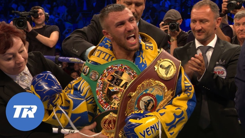 EXCLUSIVE Lomachenko Talks the Teofimo Lopez Undisputed Fight Devin Haney Floyd Mayweather More
