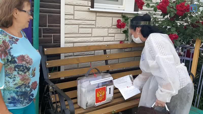 БеломесТВ Надомное голосование по поправкам в Конституцию РФ