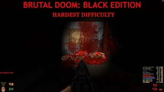 Doom   Walkthrough Part 2   Hardest Difficulty   Brutal Doom: Black Edition