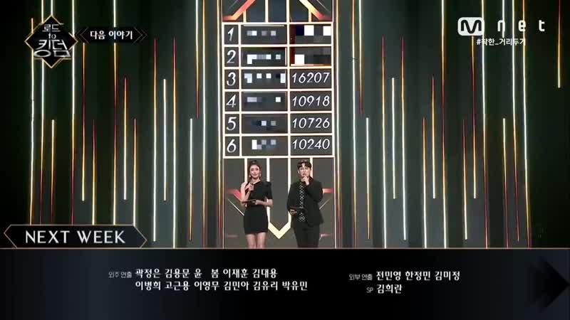 ENG Road to Kingdom NEXT WEEK 탈락팀 발생 2차 경연 순위와 3차 경연이 펼쳐집니다 200521 EP 4 HD