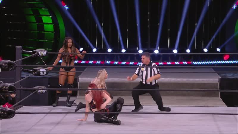 Brandi Rhodes Allie vs. KiLynn King Skyler Moore