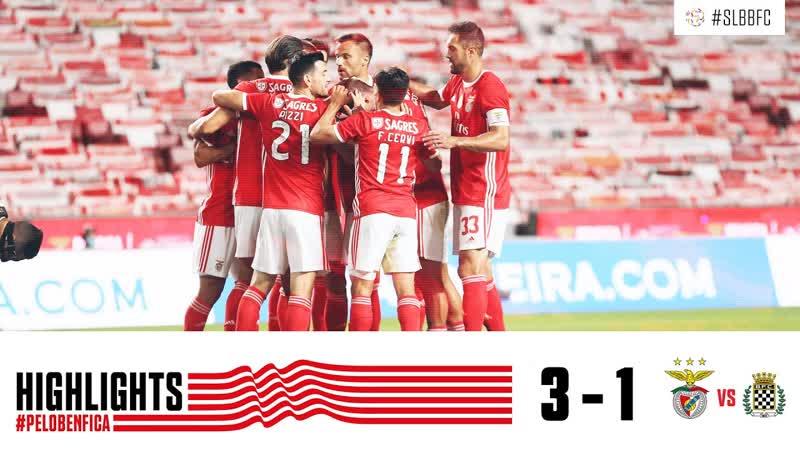HIGHLIGHTS SL Benfica 3 1 Boavista FC