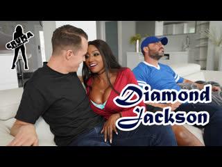 Diamond Jackson - Замена нападающего [порно с переводом, русские субтитры]