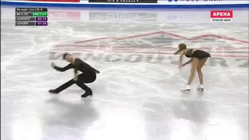 Александра Степанова Иван Букин Гран при Финал Танцы на льду Произвольный та