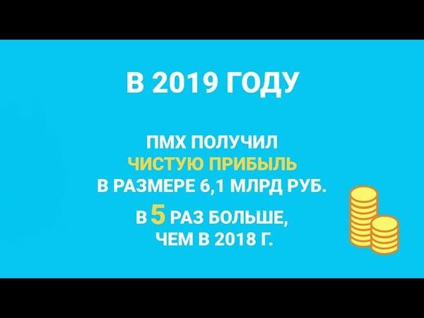 Финансовые результаты ПМХ за 2019 год