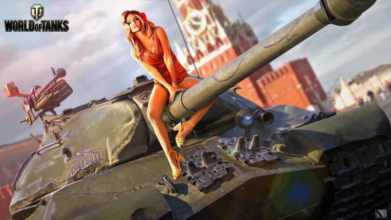 Катаем качаем World of Tanks
