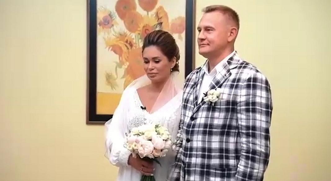 Степан Меньщиков и Ангелина поженились