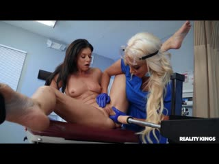 India Summer and Nicolette Shea - Banged By The Brand New Tool [Lesbian]