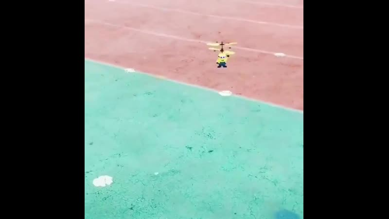 Летающий Миньон 🚁 Летающий миньон очень милая и забавная игрушка которая не оставит равнодушными ни детей ни взрослых Игр