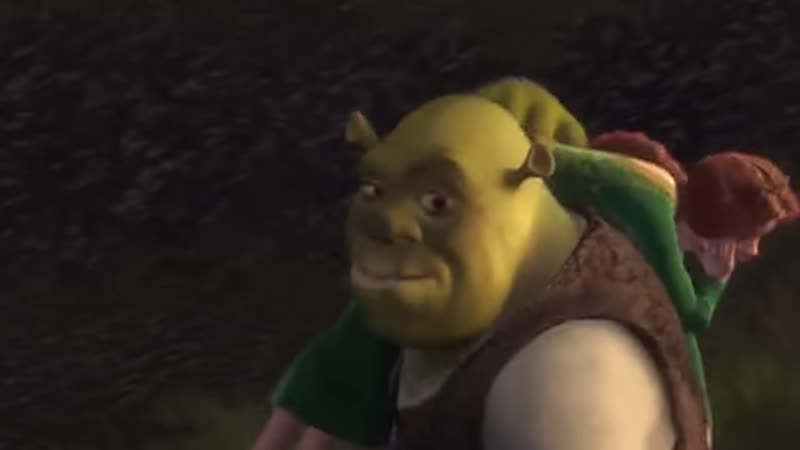 Certified Fresh Memes Shrek 2000% speed but when Shrek smiles it s normal speed and zoomed in on his face
