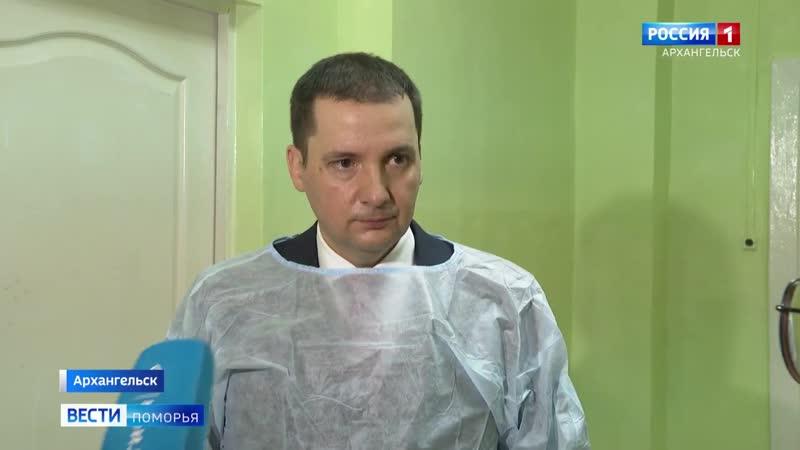 Александр Цыбульский ответил на вопросы шеф-редактора программы «Вести Поморья» — Нины Костылевой
