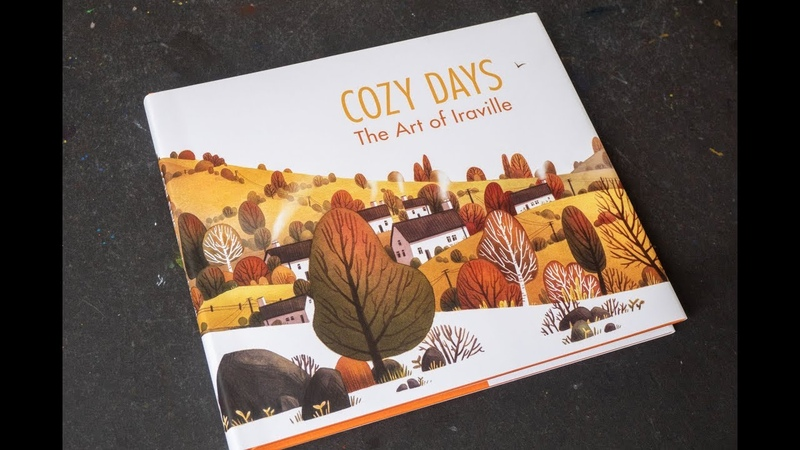 Book flip Cozy Days The Art of Iraville
