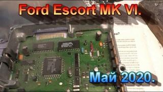 Ford Escort MK VI ( VII ). Ремонтируем стартер, чиним подсветку, отключаем иммобилайзер, разное