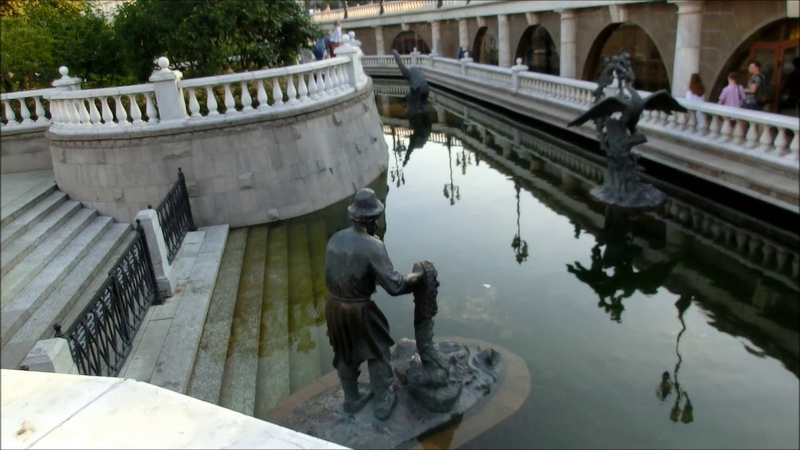 Прогулка по Москве Александровский сад Часть 1 Moscow walk Alexander Gardens Part 1