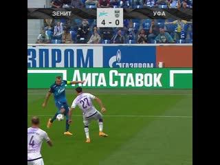 4-0 Артем Дзюба 72' Зенит - Уфа