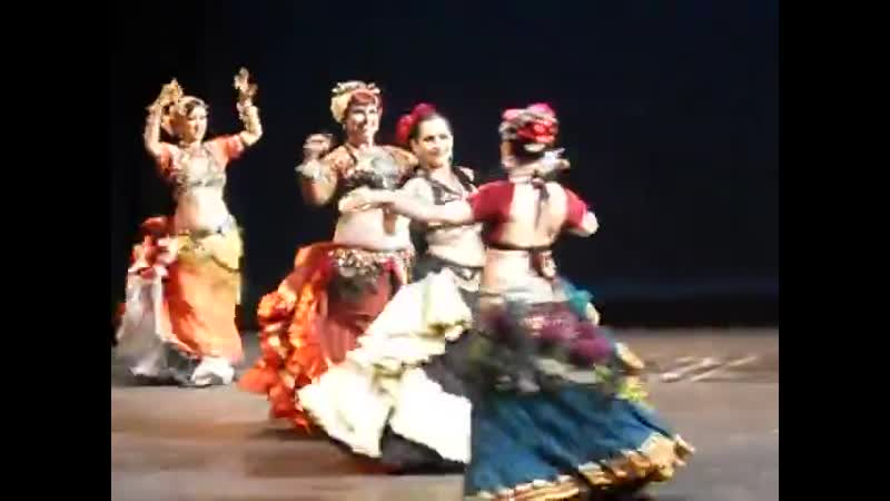 Fat Chance Belly Dance in Cues Tattoos festival video 2