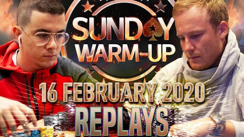 Sunday WARM UP wisopekeño eisenhower1 Remi Lebo 10 bCp Poker Replays 2020