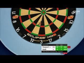 Danny Noppert vs Callan Rydz (PDC World Darts Championship 2020 / Round 2)
