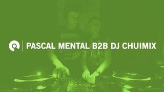Premiere: Pascal Mental B2B DJ Chuimix  23:59 x Weird Planet - Online Festival  |