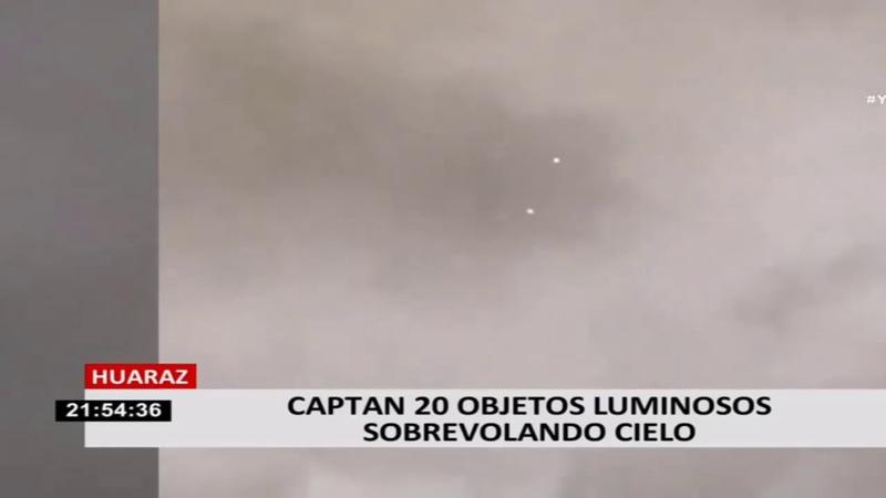 OVNI UFO 🛸 Spotted Over Huarez Peru