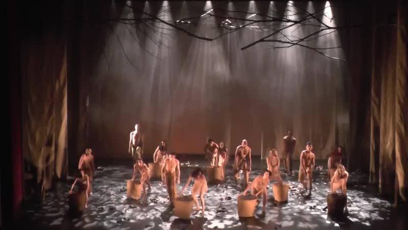 Sagração da Primavera música de Igor Stravinsky coreografia de Adriana Goes e André Duarte Teatro Amazonas 2014