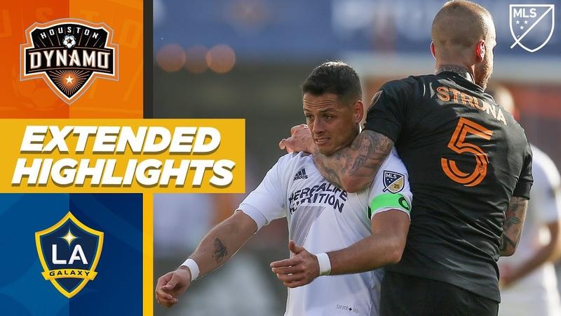 LA Galaxy vs Houston Dynamo Chicharito's Debut MLS EXTENDED HIGHLIGHTS