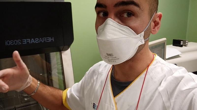 Vi porto nel laboratorio Covid BSL3 dove lavoro