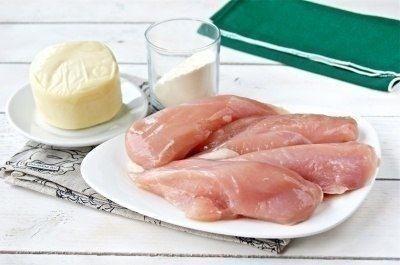 Куриные рулетики с сыром