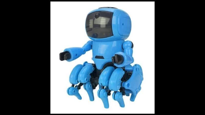 Робот конструктор The Little 8 бирюзовый заказать по почте наложенным платежом недорого интернет магазин