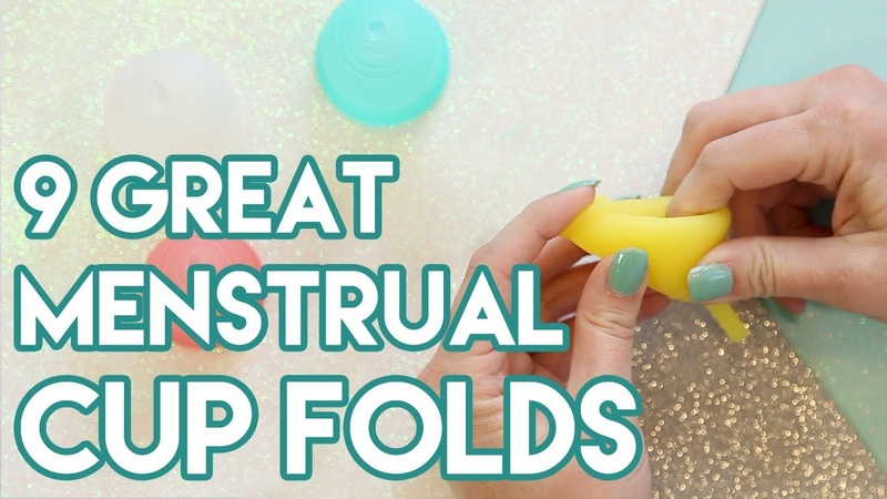 9 Great Menstrual Cup Fold Techniques