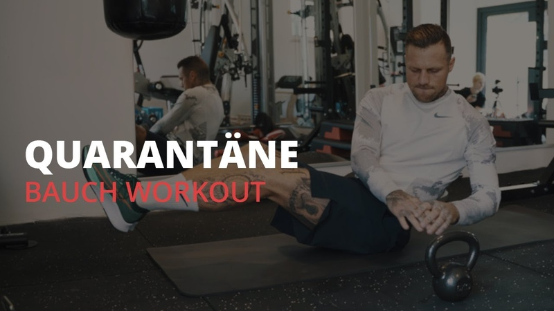 Kontra K Quarantäne Home Workout Bauch Workout StayHome and Workout WithMe