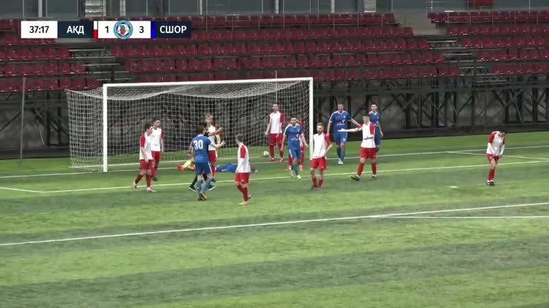 Все голы матча СШОР Звезда (Пермь) - 5:2 - Академия (Пермь). Турнир Пермь Великая