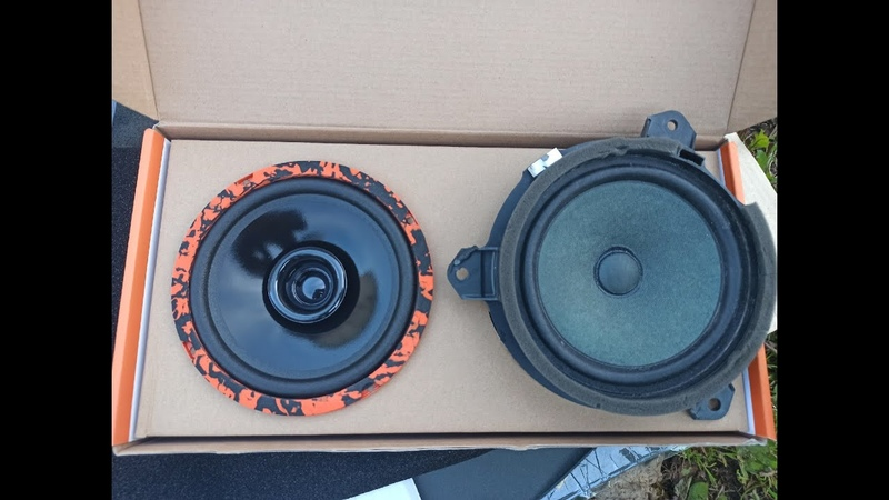 Замена штатных динамиков в Тойота Королла е180 на DL Audio Gryphon Lite 165