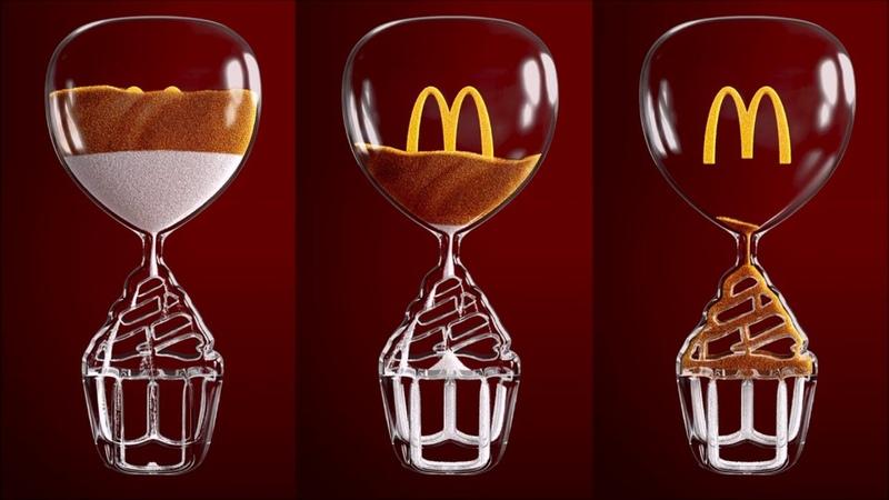 McDonald's: Iftar Sand Clock