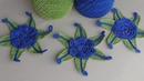 Урок вязания. Вязаные крючком цветы. How to crochet flower.Ирландское кружево.