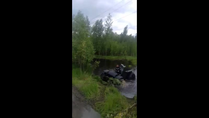 Испытания по болотам караката