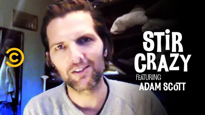 Adam Scott Wants to Quarantine with Ron Swanson Stir Crazy with Josh Horowitz